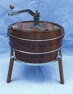 #Antique Salesman Sample Washing Machine