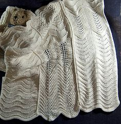 Baby Blanket--Old Shale Variations by Mary Spanos