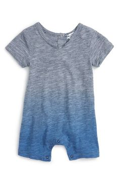 Splendid Stripe Ombré Romper (Baby Boys) available at #Nordstrom