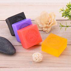 천연 활성 효소 미백 에센셜 오일 얼굴 비누 여드름 치료 여드름 리무버 오일 제어 수제 비누