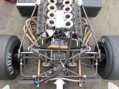 Denny Hulme's McLaren M23 - up close