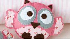 Baby felt owl pattern