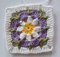 Örgü Bebek Battaniye - Mimuu.com Easy Crochet Stitches, Baby Afghan Crochet, Baby Afghans, Crochet Flower Patterns, Crochet Flowers, Plaid Crochet, Crochet Blocks, Knitted Slippers, Crochet Gifts