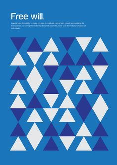 [CONCEPT] Philosophical concepts are explained through simple shapes in this poster series created by Genis Carreras. Geometry and color are used to illustrate the different notions as accurately as possible. Basic Shapes, Simple Shapes, Simple Art, Sew Simple, Unique Art, Unique Gifts, Geometric Patterns, Geometric Graphic, Poster Minimalista
