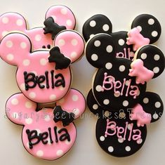 Galletas Minnie!