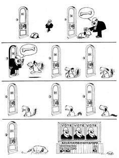 Quino – Caricaturista Argentino – 12 tiras comicas – anagam.com