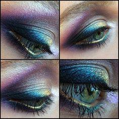Сегодня на обучении вот такой вот цветной макияж создавали вместе с…
