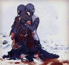 Sasuke and Itachi #naruto