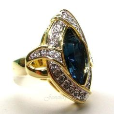 Ah! Jewellery. Montana Diamond, Stunning Eye Catching, 3ct Ocean Ring, Surrounded By Gorgeous Simulated Lab Diamonds. Ah! Jewellery Rings http://www.amazon.co.uk/dp/B009VJ96UG/ref=cm_sw_r_pi_dp_LREwvb1F60K93