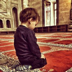 Little boy at the mosque