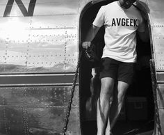 Steppin out the DC-3 in the Avgeek tee.  Come check out our range of aviation themed gifts for the guy or gal in your life who loves all things planes, flying and aviation.