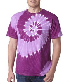 Hand-dyed with superior color-fast dyes, this tee is colorful enough to stand out in any crowd. It features double-needle stitching, shoulder-to-shoulder taping, hand-dyed with superior color-fast dyes. With quarter-turned to eliminate center crease. Made of 5.3-ounce, preshrunk 100% heavyweight cotton.