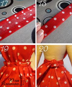 19 y 20 Barbie Clothes Patterns, Doll Patterns, Clothing Patterns, Henna Patterns, Tilda Toy, Doll Tutorial, Sewing Dolls, Felt Dolls, Doll Crafts