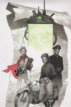Wildcats & Xmen Golden Age cover Comic Art