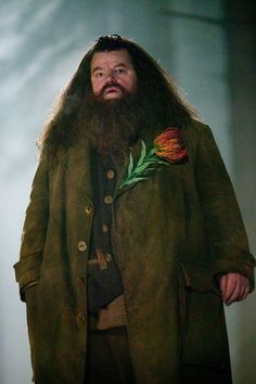 Hagrid .... going on a date