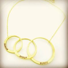 #ailekolyesi #gümüşkolye Necklace Price, Necklace Lengths, Interlocking Circle Necklace, Family Tree Necklace, Mom Ring, Personalized Mother's Day Gifts, Sister Necklace, Best Friend Necklaces, Infinity Necklace