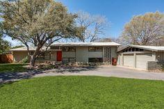 10415 Crestover Drive, Dallas TX.  Split level home built in 1956.