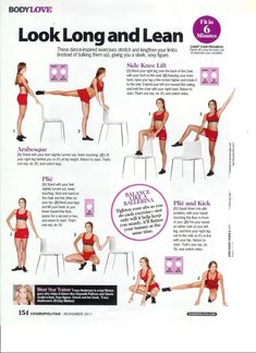 My Fitness Blog: Compilation of Tracy Anderson Method in Cosmopolitan