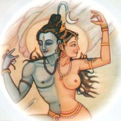 Shiva and Shakti...being one in oneself: the balance of feminine and masculine.,,, and then into the higher Self