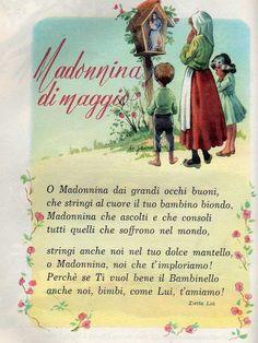 ilclanmariapia Hobby Photography, Prayers For Healing, Italian Language, Learning Italian, Vintage School, Vintage Christmas Cards, Madonna, Fashion Dolls, Catholic