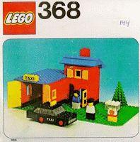 miniaturas - Táxi: Taxi Station - Lego - Táxi n.º 0