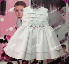 vestido batizado infantil, vestido infantil branco, vestido de festa infantil, vestido infantil para batizados e casamentos, vestido infantil de gala, vestido infantil de daminha de honra