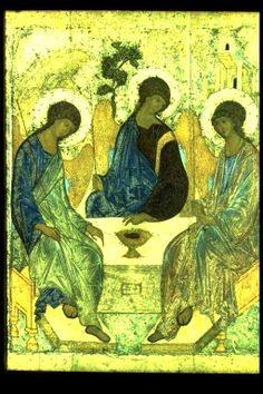 The Most Holy Trinity, Rublev