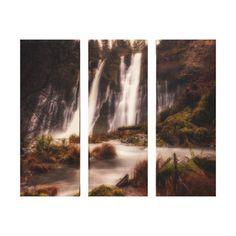 Burney Falls Down Stream