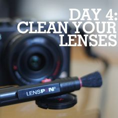Keep your camera lenses in tip top shape with these cleaning tips