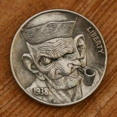 The hobo nickel is a sculptural art form involving the creative modification of small-denomination coins, essentially resulting in miniat...