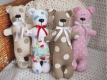 Hračky - Macko, medvedík - šitá dekorácia - 1610589