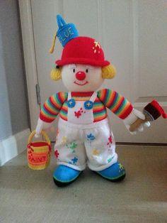 Sidney slapstick clown - Jean Greenhowe