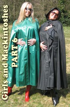 Rubber Rainwear - Instant access to rubber mackintosh and cape fetish fantasies