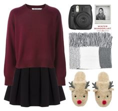 """""""Christmas Eve With Friends In Your Apartment"""" by cigerett ❤ liked on Polyvore featuring Polo Ralph Lauren, Topshop and American Eagle Outfitters"""