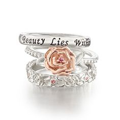 The enchanted rose disney engagement ring. I would literally faint ...