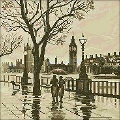 London in the Rain Cross Stitch Kit,egypt Cotton Thread 1... https://smile.amazon.com/dp/B017QC1XP0/ref=cm_sw_r_pi_dp_x_Ea1NybTZ7H09D