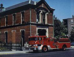 Fire Engine 1970 S   engine 12 s 1970 hahn pumper at 407 dudley street roxbury circa 1970 ...