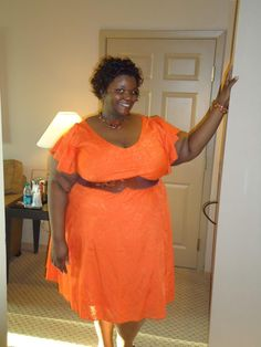 Angela looks fierce in a tangerine color from IGIGI by YR summer 2011 collection