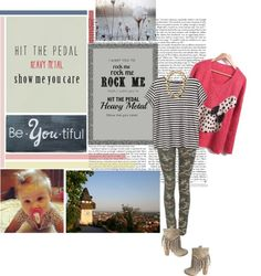 """hit the pedal heavy metal show me you care."" by osnapitssalma ❤ liked on Polyvore"