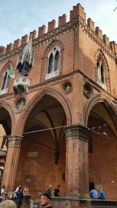 Bologna Italy Emilia Romagna Palazzo della Mercanzia  ✈✈✈ Don't miss your chance to win a Free International Roundtrip Ticket to Bologna, Italy from anywhere in the world **GIVEAWAY** ✈✈✈ https://thedecisionmoment.com/free-roundtrip-tickets-to-europe-italy-bologna/