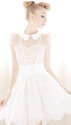Comfy and Kawaii Dress #short #prom #dress www.loveitsomuch.com