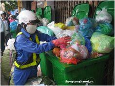 Túi ni lông là sản phẩm khó phân hủy vì vậy ta chận hạn chế dùng chúng