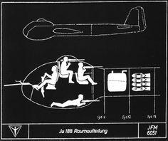 Las Cosicas del Panzer — Puestos de combate de la tripulación de un Junkers... Paper Aircraft, Ww2 Aircraft, Military Aircraft, Luftwaffe, Military Art, Military History, Ww2 Planes, Aircraft Design, Airplanes