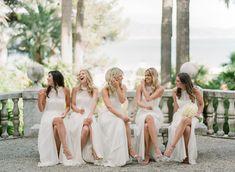 Dreamy Italian Riviera Wedding with Exclusive Italy Weddings Destination Weddings, Destination Wedding Photographer, Bridesmaids, Bridesmaid Dresses, Wedding Dresses, Italy Wedding, White Dress, Fine Art, Film