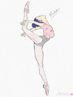 lol I drew Marinette as a ballerina.... Her hands look SO BAD!!!!!! by @AriaBlaze15~♡