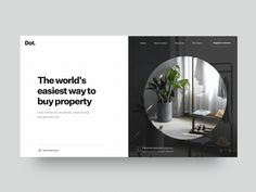 Dot Landing Page Transitions / Tom Parkes