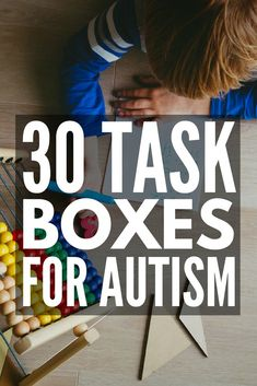 30 Task Boxes for Autism Looking for shoebox tasks for autism to support your special needs curriculum From developing fine motor skills letter and number recognition si. Autism Learning, Autism Education, Autism Activities, Autism Classroom, Hands On Learning, Special Education Classroom, Learning Disabilities, Resources For Autism, Sorting Activities