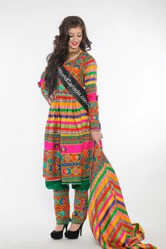 Afghanistan nomadic dress
