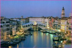 While I've been to Italy, I missed out on Venice - to me the most romantic city in the world.