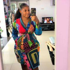 Beautiful African Ankara Styles For Curvy Ladies African Wear Dresses, African Fashion Ankara, African Inspired Fashion, African Print Fashion, African Attire, Ethnic Fashion, African Outfits, Curvy Girl Fashion, Ladies Fashion